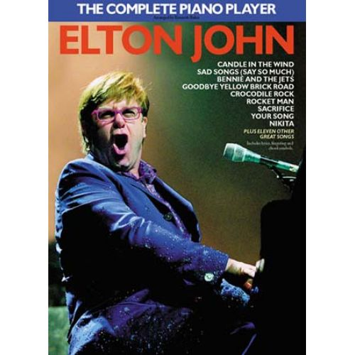 MUSIC SALES JOHN SIR ELTON - THE COMPLETE PIANO PLAYER - PIANO ARRANGEMENTS - PVG