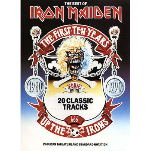 MUSIC SALES THE BEST OF IRON MAIDEN - GUITAR TAB
