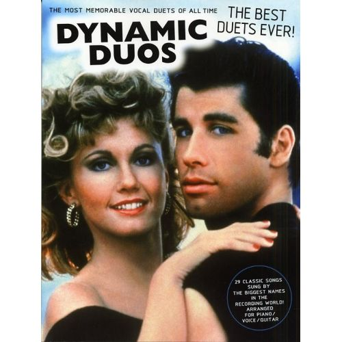 WISE PUBLICATIONS DYNAMIC DUOS - THE BEST DUETS EVER! FOR PIANO, VOICE AND GUITAR - VOICE