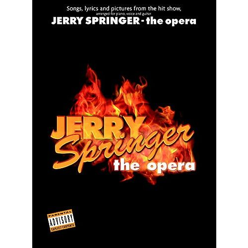 WISE PUBLICATIONS JERRY SPRINGER - SELECTIONS FROM THE OPERA - PVG