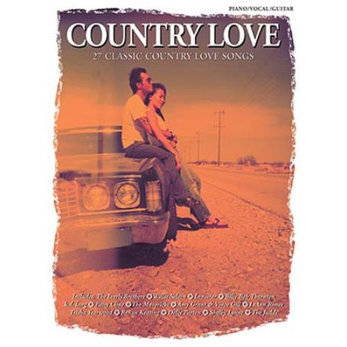 WISE PUBLICATIONS JACK LONG - COUNTRY LOVE-27 CLASSIC COUNTRY LOVE SONGS-PIANO/VOCAL-GUITAR-MUSIC- PVG