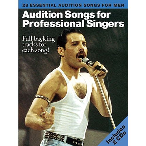 WISE PUBLICATIONS AUDITION SONGS FOR PROFESSIONAL SINGERS - MEN - PVG