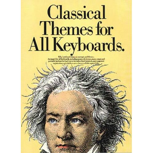 MUSIC SALES CLASSICAL THEMES FOR ALL KEYBOARDS - PIANO SOLO