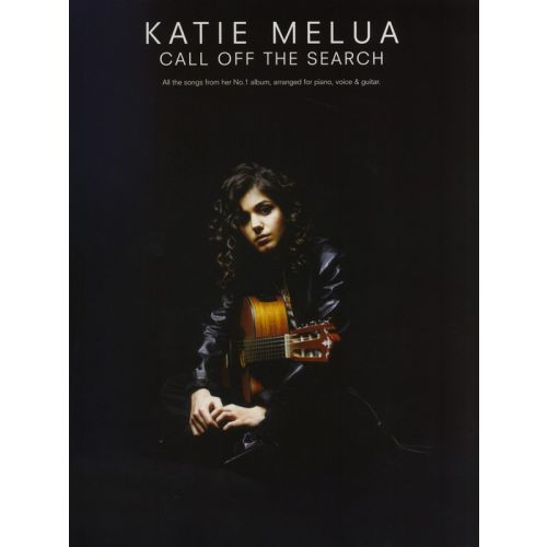 WISE PUBLICATIONS MELUA KATIE - CALL OFF THE SEARCH - PVG