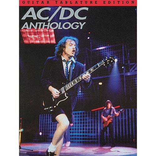 MUSIC SALES AC/DC ANTHOLOGY - GUITAR TAB
