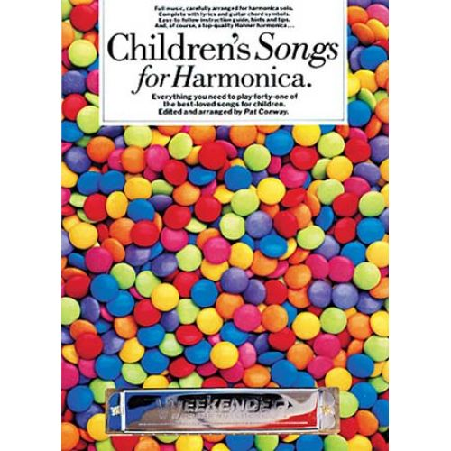 MUSIC SALES CONWAY PAT - CHILDREN'S SONGS FOR HARMONICA - HARMONICA
