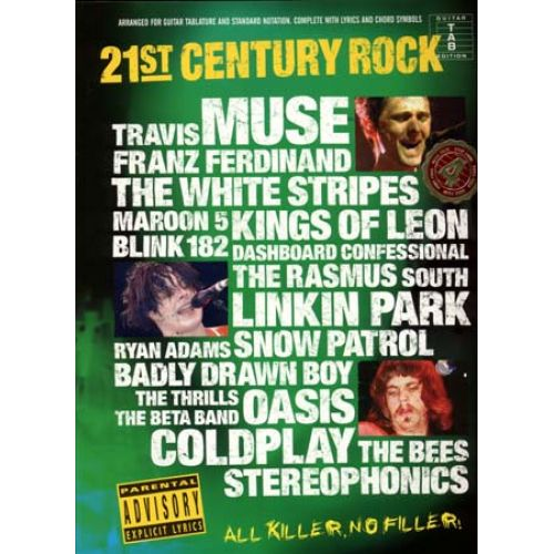 WISE PUBLICATIONS 21 ST CENTURY ROCK 4 - GUITAR TAB