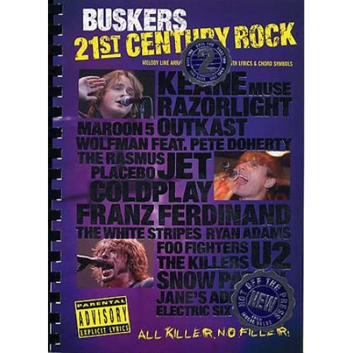 WISE PUBLICATIONS 21ST CENTURY ROCK BUSKERS VOL 2 - GUITARE