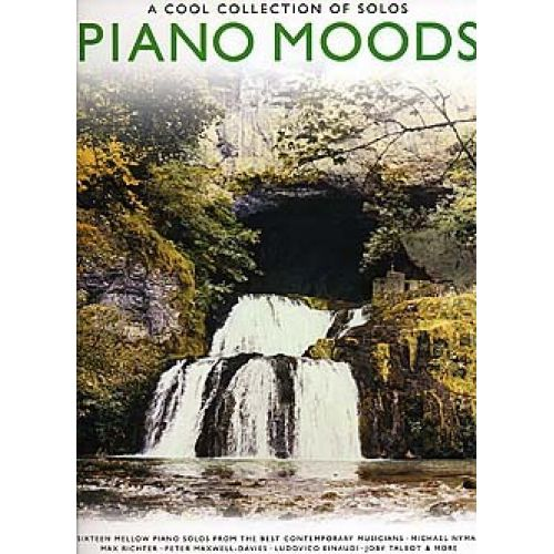 WISE PUBLICATIONS PIANO MOODS - A COOL COLLECTION OF SOLOS - PIANO SOLO