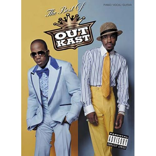 WISE PUBLICATIONS OUTKAST : THE BEST OF - PIANO, VOZ, GUITARRA