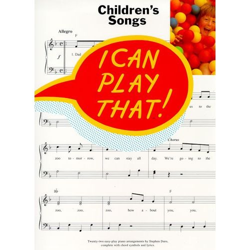 WISE PUBLICATIONS CHILDREN'S SONGS - LYRICS AND CHORDS