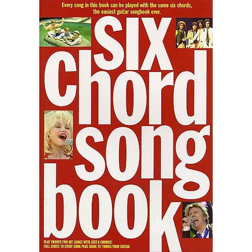 WISE PUBLICATIONS SIX CHORD SONGBOOK - 1960-1980 - LYRICS AND CHORDS
