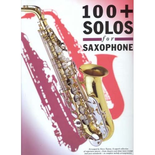 WISE PUBLICATIONS 100 SOLOS - SAXOPHONE