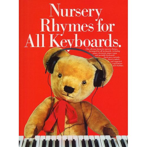 MUSIC SALES SCOTT DAVID - NURSERY RHYMES FOR ALL KEYBOARDS - PVG