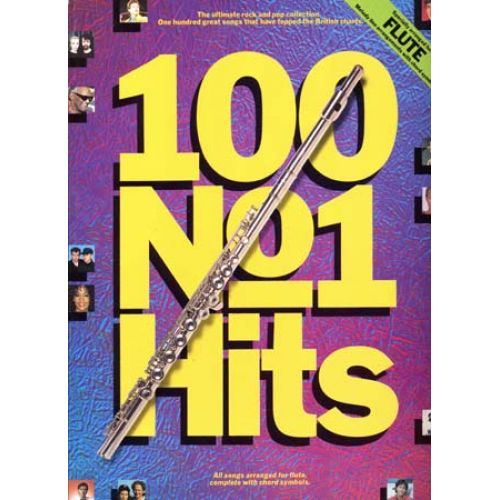 WISE PUBLICATIONS 100 N°1 HITS - FLUTE