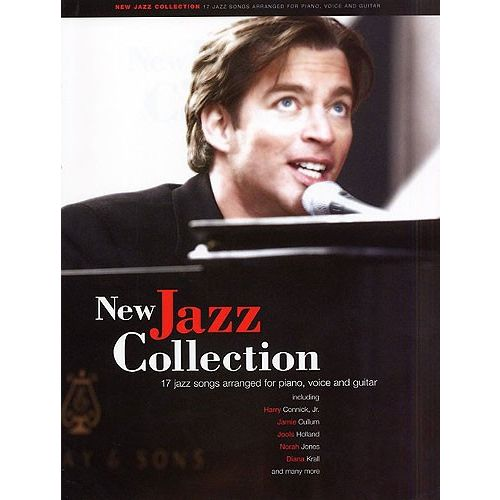 MUSIC SALES NEW JAZZ COLLECTION-PIANO/VOICE/GUITAR-MUSIC- PVG