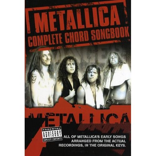 WISE PUBLICATIONS SONGMETALLICA CHORD SONGBOOK VOL.1 : THE EARLY YEARS - VOICE, GUITAR