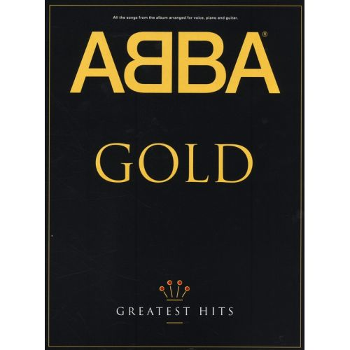 MUSIC SALES NYMAN MICHAEL - ABBA GOLD - GREATEST HITS - PVG