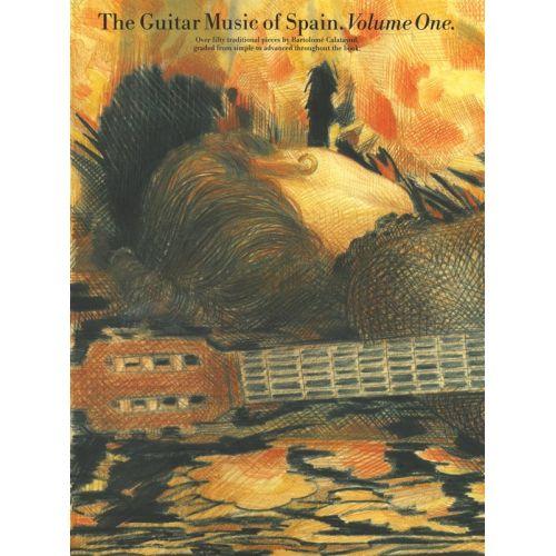 MUSIC SALES ZARADIN JOHN - THE GUITAR MUSIC OF SPAIN - VOLUME 1 - GUITAR