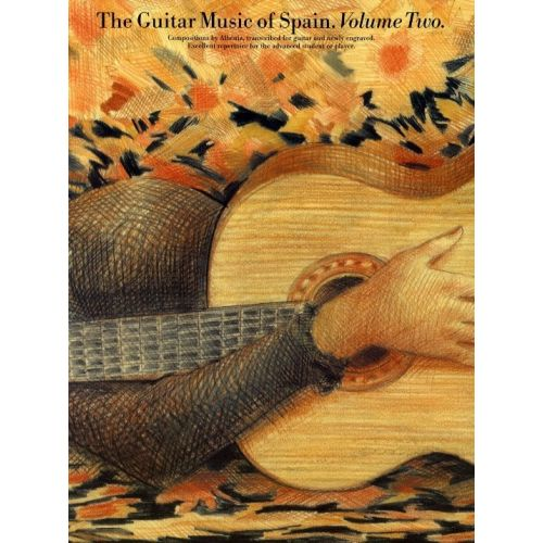 MUSIC SALES THE GUITAR MUSIC OF SPAIN VOLUME 2 - GUITAR