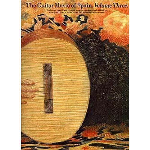 MUSIC SALES ZARADIN JOHN - THE GUITAR MUSIC OF SPAIN - VOLUME 3 - GUITAR