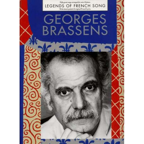 WISE PUBLICATIONS BRASSENS GEORGES - LEGENDS OF FRENCH - PVG