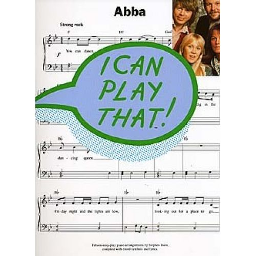 WISE PUBLICATIONS ABBA - FIFTEEN EASY-PLAY PIANO ARRANGEMENTS BY STEPHEN DURO, COMPLETE WITH CHORD SYMBOLS AND LYRICS