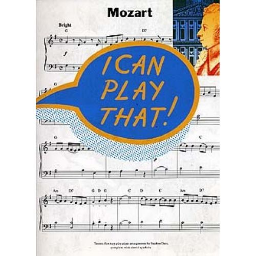 MUSIC SALES I CAN PLAY THAT MOZART - PIANO SOLO