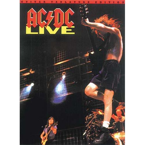 WISE PUBLICATIONS AC/DC - LIVE - GUITAR TAB