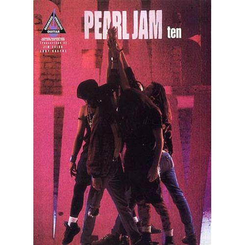 MUSIC SALES PEARL JAM TEN GUITAR RECORDED VERSIONS - GUITAR TAB