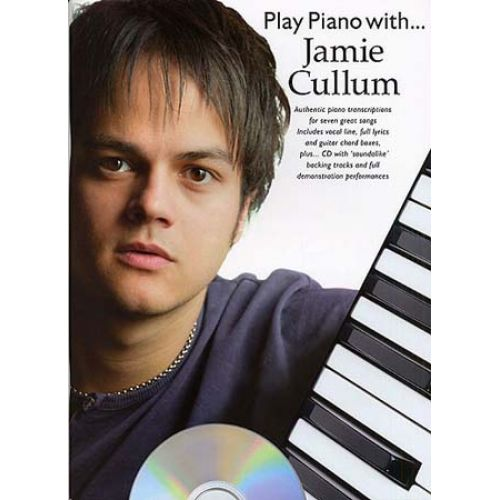MUSIC SALES CULLUM JAMIE - PLAY PIANO WITH TAB + CD
