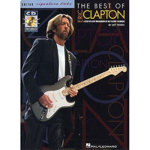 MUSIC SALES THE BEST OF ERIC CLAPTON - GUITAR TAB