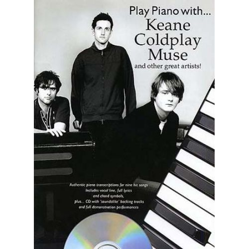 WISE PUBLICATIONS NEW PLAY PIANO : COLDPLAY, MUSE... - PIANO, VOICE