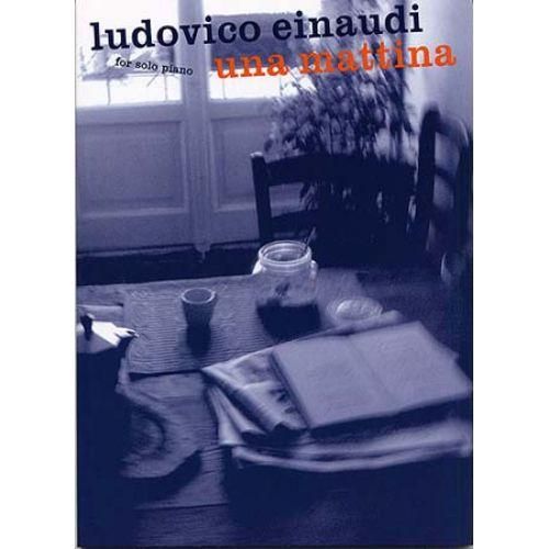 WISE PUBLICATIONS EINAUDI LUDOVICO - UNA MATTINA - SOLO PIANO
