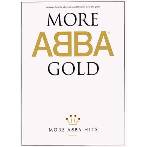 WISE PUBLICATIONS ABBA - MORE GOLD - PVG