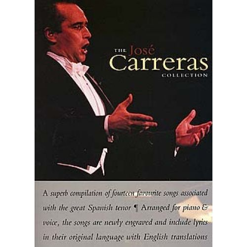 MUSIC SALES JOSE CARRERAS - COLLECTION - PVG