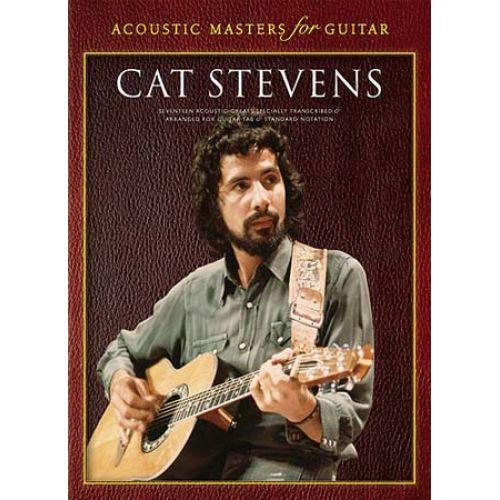 WISE PUBLICATIONS STEVENS CAT - ACOUSTIC MASTERS FOR GUITAR - CAT STEVENS - GUITAR TAB