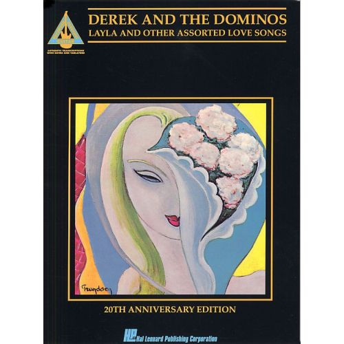 MUSIC SALES DEREK AND THE DOMINOS LAYLA AND OTHER ASSORTED LOVE SONGS 20TH ANNIV - GUITAR TAB
