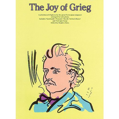 MUSIC SALES THE JOY OF GREIG - PIANO SOLO