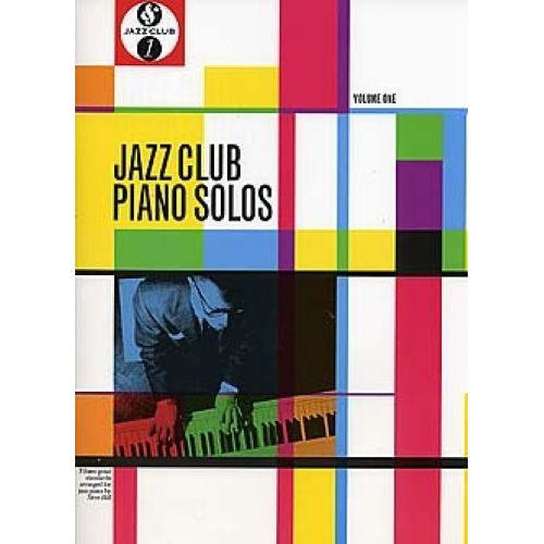 MUSIC SALES JAZZ CLUB PIANO SOLOS - VOLUME 1 - PIANO SOLO