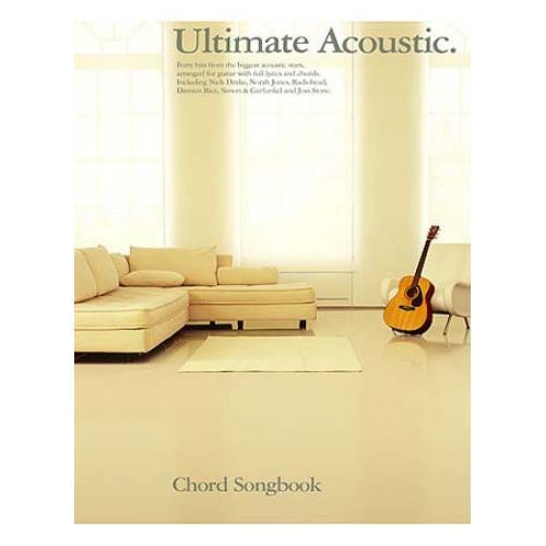 MUSIC SALES ULTIMATE ACOUSTIC CHORD SONGBOOK