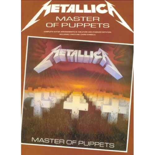 WISE PUBLICATIONS METALLICA - MASTER OF PUPPETS - GUITAR TAB