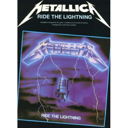 CHERRY LANE METALLICA - RIDE THE LIGHTNING - GUITAR TAB