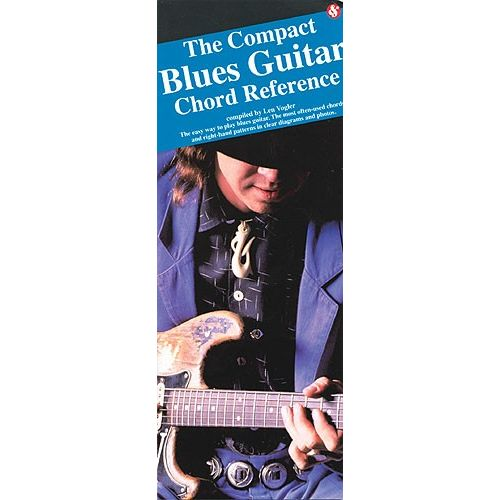 MUSIC SALES THE COMPACT BLUES GUITAR CHORD REFERENCE - GUITAR
