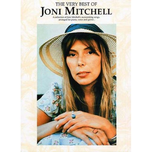 WISE PUBLICATIONS MITCHELL JONI - VERY BEST OF - PVG