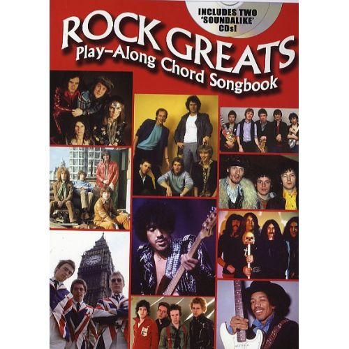 WISE PUBLICATIONS ROCK GREATS - PLAY ALONG CHORD SONGBOOK - GUITAR