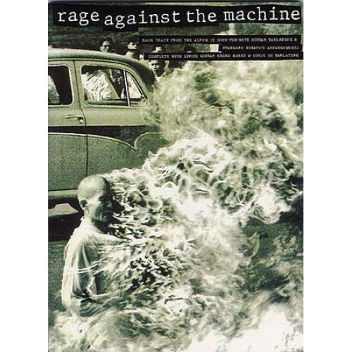 MUSIC SALES RAGE AGAINST THE MACHINE - SONGBOOK - GUITAR TAB