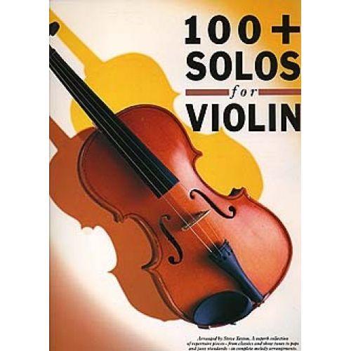 MUSIC SALES STEVE TAYTON - 100 + SOLOS- VIOLIN