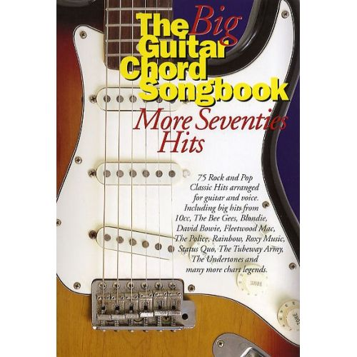 WISE PUBLICATIONS THE BIG GUITAR CHORD SONGBOOK - MORE SEVENTIES ...