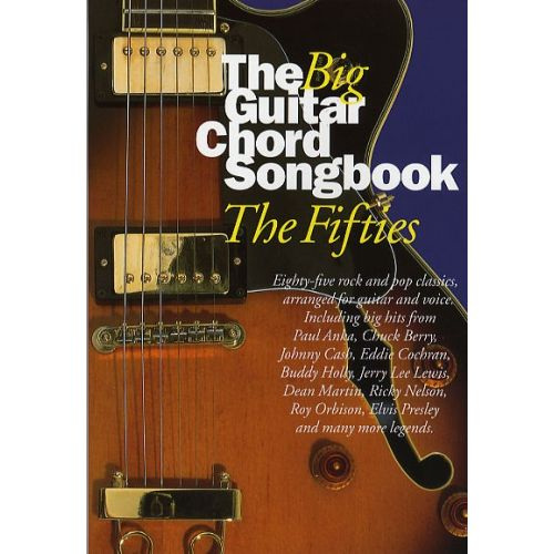 WISE PUBLICATIONS THE BIG GUITAR CHORD SONGBOOK - THE FIFTIES - LYRICS AND CHORDS